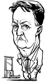 Louis van Gaal Karikatur Daniel Stieglitz, Danikaturen, Schnellzeichner, Karikaturist, Karikaturen, Messezeichner, Firmenevents, Messe, national, international, live caricature, Eventzeichner, artist, Künstler, Firmenfeier, Geburtstag, Aachen, Augsburg, B