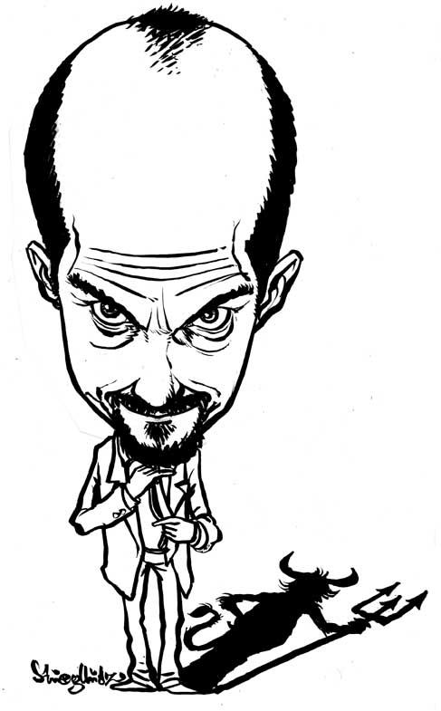 Danikaturen Karikaturist Schnellzeichner Ipad Pro