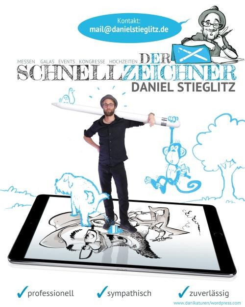 karikaturist Schnellzeichner