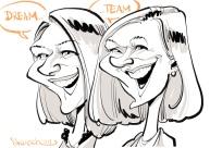 schnellzeichner karikaturist iPad Hamburg chefs culinar 00018