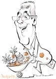 schnellzeichner karikaturist iPad Hamburg chefs culinar 00033