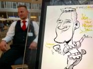 schnellzeichner karikaturist iPad München Bayern Zeichner Daniel Stieglitz