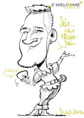 schnellzeichner karikaturist iPad München Bayern 00011