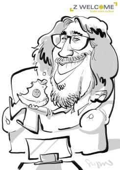 schnellzeichner karikaturist iPad München Bayern 00014