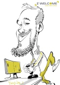 schnellzeichner karikaturist iPad München Bayern 00026