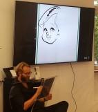 Schnellzeichner Karikaturist Würzburg Bayern Daniel Stieglitz iPad Zeichner