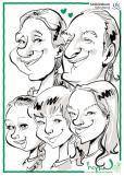 schnellzeichner karikaturist würzburg iPad zeichner event zeichner Daniel Stieglitz bayern