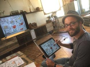 schnellzeichner karikaturist ZDF wähl mich berlin 00003