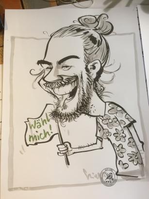 schnellzeichner karikaturist ZDF wähl mich berlin 00015