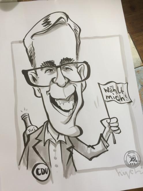 schnellzeichner karikaturist ZDF wähl mich berlin 00016