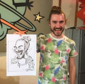 schnellzeichner karikaturist ZDF wähl mich berlin 00018