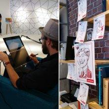 Berlin IFA 2016 schnellzeichner messezeichner karikaturist live event zeichner 00002