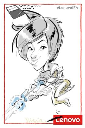 Berlin IFA 2016 schnellzeichner messezeichner karikaturist live event zeichner 00286