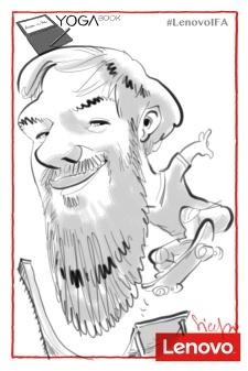 Berlin IFA 2016 schnellzeichner messezeichner karikaturist live event zeichner 00309