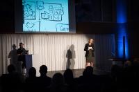 Berlin Saarland Schnellzeichner MEssezeichner live event Karikaturist Daniel Stieglitz 00004