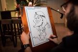 Berlin Saarland Schnellzeichner MEssezeichner live event Karikaturist Daniel Stieglitz 00013
