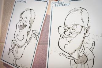 Berlin Saarland Schnellzeichner MEssezeichner live event Karikaturist Daniel Stieglitz 00015