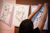 Berlin Saarland Schnellzeichner MEssezeichner live event Karikaturist Daniel Stieglitz 00018