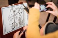 Berlin Saarland Schnellzeichner MEssezeichner live event Karikaturist Daniel Stieglitz 00022