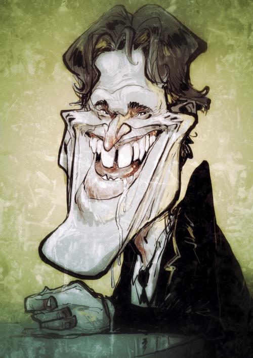 willem dafoe Karikatur Caricature Caricatura Daniel Stieglitz