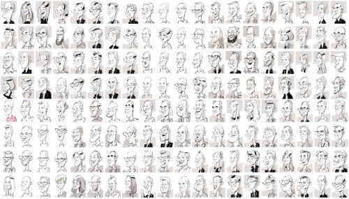 leipzig PORSCHE schnellzeichner messezeichner karikaturist live event zeichner iPad zeichner Daniel Stieglitz