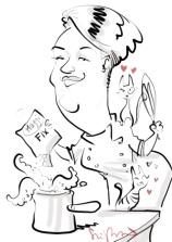 leipzig SAMSUNG schnellzeichner messezeichner karikaturist live zeichner 00018