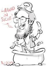 leipzig SAMSUNG schnellzeichner messezeichner karikaturist live zeichner 00020