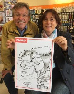 regensburg PAGRO schnellzeichner messezeichner karikaturist live event zeichner 00016