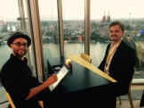 Roadshow Goodyear Köln Leipzig Berlin iPad Schnellzeichner MEssezeichner live event Karikaturist Daniel Stieglitz