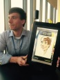 Roadshow Goodyear Köln Leipzig Berlin iPad Schnellzeichner MEssezeichner live event Karikaturist Daniel Stieglitz 00011