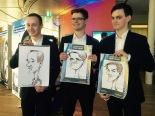 Roadshow Goodyear Köln Leipzig Berlin iPad Schnellzeichner MEssezeichner live event Karikaturist Daniel Stieglitz 00016
