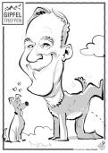 schnellzeichner messezeichner karikaturist live zeichner Frankfurt zeus 00011