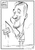 schnellzeichner messezeichner karikaturist live zeichner Frankfurt zeus 00012