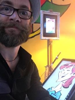 schweiz basel AGA eröffnung schnellzeichner karikaturist messezeichner daniel stieglitz 00033