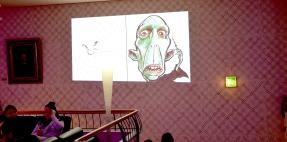 Zürich Schweiz iPad Schnellzeichner MEssezeichner live event Karikaturist Daniel Stieglitz 00001