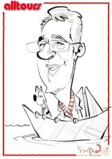 ALLTOURS düsseldorf schnellzeichner karikaturist ipad zeichner event daniel stieglitz 00023