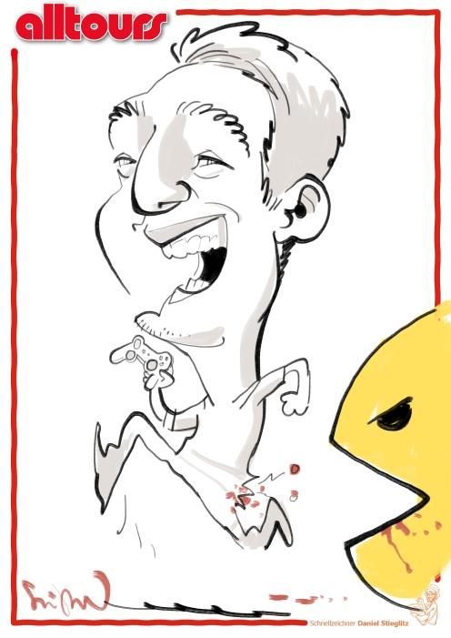 ALLTOURS düsseldorf schnellzeichner karikaturist ipad zeichner event daniel stieglitz 00044