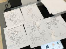 berlin IFA 2018 SAMSUNG schnellzeichner karikaturist ipad zeichne event daniel stieglitz00010