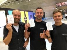 berlin IFA 2018 SAMSUNG schnellzeichner karikaturist ipad zeichne event daniel stieglitz00029