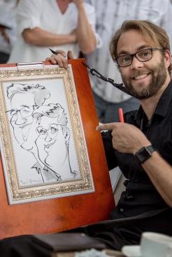 R+V Versicherung Wiesbaden schnellzeichner karikaturist ipad zeichner event daniel stieglitz 00007