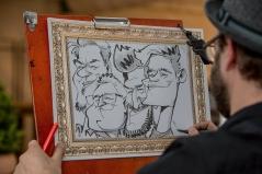 R+V Versicherung Wiesbaden schnellzeichner karikaturist ipad zeichner event daniel stieglitz 00024