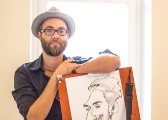 SABIO hamburg schnellzeichner karikaturist ipad zeichner event daniel stieglitz 00006