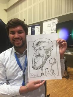 Cisco Berlin Messezeichner Schnellzeichner iPad zeichner Karikaturist Event Zeichner artist Daniel Stieglitz 00003