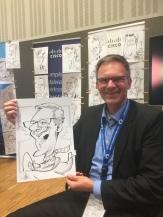 Cisco Berlin Messezeichner Schnellzeichner iPad zeichner Karikaturist Event Zeichner artist Daniel Stieglitz 00004