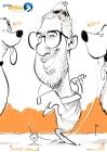 frankfurt global office Messezeichner Schnellzeichner iPad zeichner Karikaturist Event Zeichner artist Daniel Stieglitz 00003