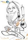 frankfurt global office Messezeichner Schnellzeichner iPad zeichner Karikaturist Event Zeichner artist Daniel Stieglitz 00004