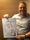 top schnellzeichner daniel stieglitz papier Karikaturist Bremen