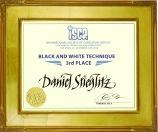 + ISCA 2018 San Diego 3rd place black and white technique Daniel Stieglitz