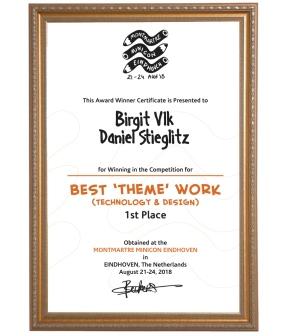 Schnellzeichner Daniel Stieglitz Caricature Artist Awards Preis Preise golden nosey eurocat best caricaturist live weltmeister europameister