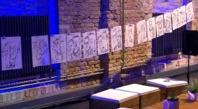 schnellzeichner daniel stieglitz berlin bolle karikaturist firmenfeier event artist caricatures live berlin brandenburg